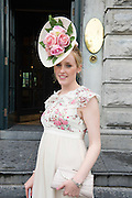 Sarah Scanlon, Athlone  at the Most Stylish Lady event at Hotel Meyrick on ladies day of The Galway Races. Photo:Andrew Downes