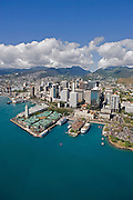 Aloha Tower, Downtown Honolulu, Oahu, Hawaii<br />