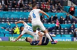 Scotland's Scott McTominay unsuccessfully appeals for a penalty during the UEFA Euro 2020 Group D match at Hampden Park, Glasgow. Picture date: Monday June 14, 2021.