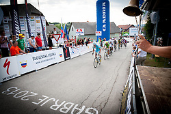 Last round during Slovenian Road Cyling Championship 2013 on June 23, 2013 in Gabrje, Slovenia. (Photo by Vid Ponikvar / Sportida.com)