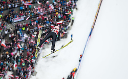 05.02.2017, Heini Klopfer Skiflugschanze, Oberstdorf, GER, FIS Weltcup Ski Sprung, Oberstdorf, Skifliegen, im Bild Dawid Kubacki (POL) // Dawid Kuback of Poland during mens FIS Ski Flying World Cup at the Heini Klopfer Skiflugschanze in Oberstdorf, Germany on 2017/02/05. EXPA Pictures © 2017, PhotoCredit: EXPA/ Peter Rinderer