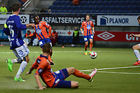 Fotball , 21 August , Tippeligaen , Eliteserien , Molde - Odd , Foto: Marius Simensen, Digitalsport , Bi sylvestre Franck Fortune Boli