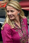 Uitreiking Prins Claus Prijs 2016 in het Koninklijk Paleis in Amsterdam.<br /> <br /> Op de foto:  prinses Mabel