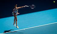 Petra Kvitova of the Czech Republic in action during her quarter-final match at the 2020 Australian Open, WTA Grand Slam tennis tournament on January 28, 2020 at Melbourne Park in Melbourne, Australia - Photo Rob Prange / Spain ProSportsImages / DPPI / ProSportsImages / DPPI
