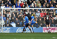 Photo: Tony Oudot/Richard Lane Photography. Gillingham v Shrewsbury Town. Coca-Cola Football League Two. 28/02/2009. <br /> GOAL! Grant Holt of Shrewsbury (16) scores his last minute equaliser