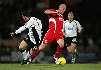 Photo: Paul Thomas.<br /> Port Vale v Bristol City. Coca Cola League 1. 17/12/2005.<br /> <br /> Bristol goal scorer Steve Brooker makes a break down field.