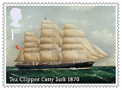 ©  London News Pictures. 18/09/2013. New Royal Mail stamps showing scenes from World War Two Atlantic and Arctic convoys during their launch at the Cutty Sark in Greenwich, London, today (18/09/2013). The stamps, issued along with others depicting famous merchant ships including the Cutty Sark, are available from the 19th of September 2013. Photo credit: Matt Cetti-Roberts/LNP. Photo credit : LNP