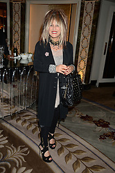 Fashion designer ELIZABETH EMANUEL at the inaugural Stephen Lawrence Memorial Ball held at The Dorchester, Park Lane, London on 17th October 2013.