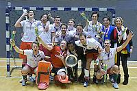 ROTTERDAM -  MOP H2 kampioen tijdens het Landskampioenschap reserveteam zaal 2013. FOTO KOEN SUYK
