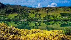 Reflections in Loch Broom near Ullapool, Ross-shire, Scotland<br /> <br /> (c) Andrew Wilson | Edinburgh Elite media