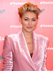 Emma Willis attending The Voice UK 2019 Launch Photocall held at W Hotel, Leicester Square, London. Picture credit should read: Doug Peters/EMPICS