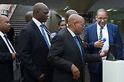 Jacob G. Zuma, President of the Republic of South Africa<br /> Presidency of South Africa at the World Economic Forum on Africa 2017 in Durban, South Africa. Copyright by World Economic Forum / Greg Beadle