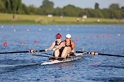 Race: 127  Event: Women's Coxless Pairs - Tier 3 - Final<br /> <br /> National Schools Regatta 2018<br /> Sunday<br /> <br /> To purchase this photo, or to see pricing information for Prints and Downloads, click the blue 'Add to Cart' button at the top-right of the page. The Metropolitan Regatta 2018 The Metropolitan Regatta 2018