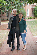 Emma D'Aluisio, 20, at Randolph College, Lynchburg, VA with her uncle, Peter Menzel. mmm