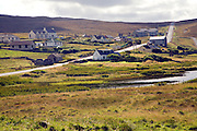 Village of Urafirth, Mainland, Shetland Islands, Scotland