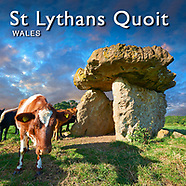 Images of St Lythans Burial Chamber Wales | Pictures & Images