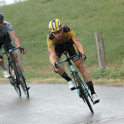 23-08-2020: Wielrennen: NK elite: Drijber<br /> Regen Lennard Hofstede (Netherlands / Team Jumbo - Visma)23-08-2020: Wielrennen: NK elite: Drijber