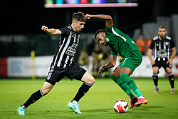 Mihael Klepac of NS Mura during football match between NS Mura and PFC Ludogorets in 2nd qualifying round of UEFA Champions League, on 21st of July, 2021 in Mestni stadion Fazanerija, Murska Sobota, Slovenia. Photo by Blaž Weindorfer / Sportida