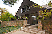 Frank Lloyd Wright home and studio Oak Park, IL, USA.