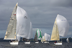 Peelport Clydeport Largs Regatta Week 2013 <br /> <br /> Class 1, GBR7745R, Eala of Rhu, Swan 45, Jamie McGarry, CCC/RNCYC, GBR5991T, Prime Suspect, Mills 36, Charlie Frize, RNCYC/CCC<br /> Largs Sailing Club, Largs Yacht Haven, Scottish Sailing Institute