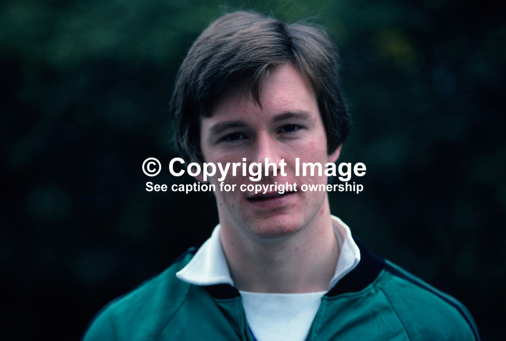 John O'Neill, footballer, Leicester City FC and N Ireland. 198011000371.<br /> <br /> Copyright Image from Victor Patterson, Belfast, UK<br /> <br /> t: +44 28 9066 1296 (from Rep of Ireland 048 9066 1296)<br /> m: +44 7802 353836<br /> e: victorpattersonbelfast@gmail.com<br /> <br /> www.images4media.com<br /> <br /> Please see my full Terms and Conditions of Use at https://www.images4media.com/p/terms-conditions - it is IMPORTANT that you familiarise yourself with them.<br /> <br /> Images used online incur an additional cost. This cost should be agreed in writing in advance. Online images must be visibly watermarked i.e. © Victor Patterson or that of the named photographer within the body of the image. The original metadata must not be deleted from images used online.<br /> <br /> This image is only available for the use of the download recipient i.e. television station, newspaper, magazine, book publisher, etc, and must not be passed on to a third party. It is also downloaded on condition that each and every usage is notified within 7 days to victorpattersonbelfast@gmail.com.<br /> <br /> The right of Victor Patterson (or the named photographer) to be identified as the author is asserted in accordance with The Copyright Designs And Patents Act (1988). All moral rights are asserted.