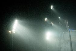 January 19, 2018 - Oberstdorf, GERMANY - 180119 Floodlights at the Heini-Klopfer Arena during the FIS Ski Flying World Championships on January 19, 2018 in Oberstdorf..Photo: Vegard Wivestad GrÂ¿tt / BILDBYRN / kod VG / 170079 (Credit Image: © Vegard Wivestad Gr¯Tt/Bildbyran via ZUMA Wire)
