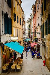 Street scene in Venice, Italy<br /> <br /> (c) Andrew Wilson | Edinburgh Elite media