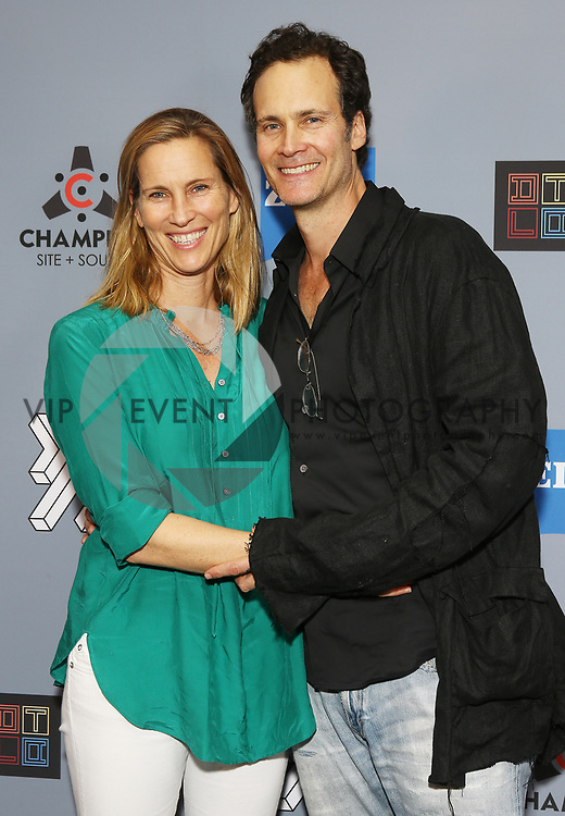 """Randall Batinkoff and wife at DTLA Film Festival """"INSIDE GAME"""" Los Angeles Premiere held at Regal LA Live on October 24, 2019 in Los Angeles, California, United States (Photo by © Michael Tran/VipEventPhotography.com"""
