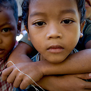 Curious young Cambodian boys (, Cambodia - Oct. 2008) (Image ID: 081027-0747361a)