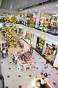 Israel, Haifa interior of a shopping mall