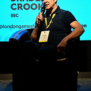 Bradley Crooks at London Games Festival 2019: HUB at Somerset House at Strand, London, UK. on 2nd April 2019.