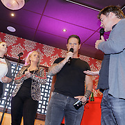 NLD/Amsterdam/20190228 - Opening Holland Zingt Hazes 2019 Backstage Cafe, Jeroen van der Boom, Samantha Stee treden opnwijk, Roxanne Hazes en Danny de Munk