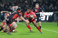 Steffon Armitage  - 14.03.2015 - Lyon OU / Toulon -  20eme journee de Top 14<br /> Photo : Jean Paul Thomas  / Icon Sport<br /> <br />   *** Local Caption ***