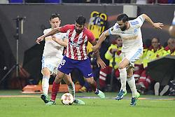 May 16, 2018 - Lyon, France, France - THAUVIN Florian (OM) vs Diego Costa (Atletico) / RAMI Adil  (Credit Image: © Panoramic via ZUMA Press)