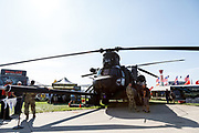MH-53 Chinook at Airventure 2017.