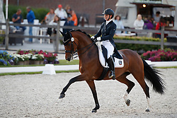 Fehl Aikje, GER, Chilly Jam<br /> Longines FEI/WBFSH World Breeding Dressage Championships for Young Horses - Ermelo 2017<br /> © Hippo Foto - Dirk Caremans<br /> 03/08/2017