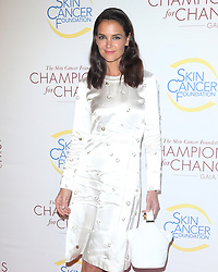 Celebs at the Champions for Change gala in New York. 17 Oct 2019 Pictured: Katie Holmes. Photo credit: MEGA TheMegaAgency.com +1 888 505 6342
