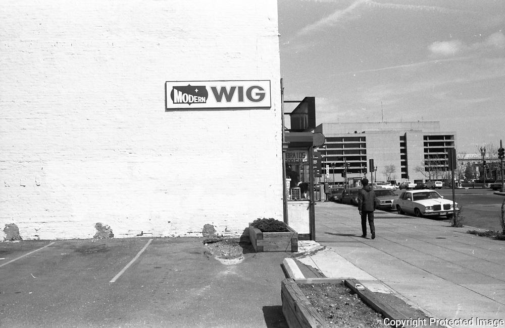 700 Block G Street NW, Washington DC 1988
