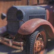 Abandoned Truck - Randsburg,CA - Lensbaby - HDR