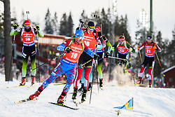 March 10, 2019 - –Stersund, Sweden - 190310 Evgeniy Garanichev of Russia during the Men's 12,5 km Pursuit during the IBU World Championships Biathlon on March 10, 2019 in Östersund..Photo: Petter Arvidson / BILDBYRÃ…N / kod PA / 92255 (Credit Image: © Petter Arvidson/Bildbyran via ZUMA Press)