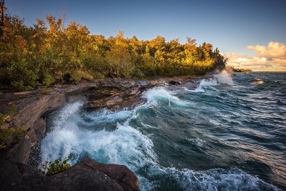 Lake Superior Shoreline, Michigan