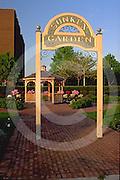 Harrisburg, PA, Riverfront Park, Sunken Garden, Park Sign, Gazebo,