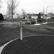 NLD/Huizen/19911211 - Kruising Bakboord - Gemeenlandslaan Huizen