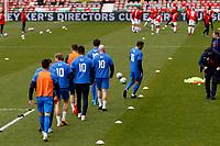 Connor Jennings. Wrexham AFC 0-3 Stockport County FC. Vanarama National League. The Racecourse Ground. 10.4.21
