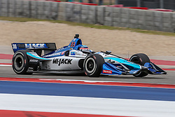 March 23, 2019 - Austin, Texas, U.S - Rahal Letterman Lanigan Racing driver Takuma Sato (30) of Japan in action during the practice round at the Circuit of the Americas racetrack in Austin,Texas. (Credit Image: © Dan Wozniak/ZUMA Wire)
