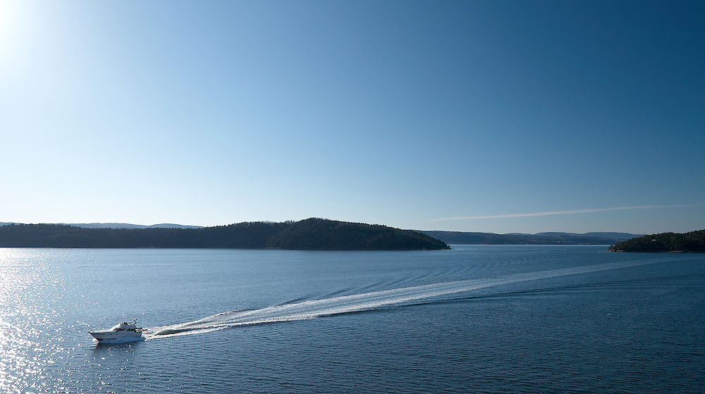 Norway - Boat in Oslofjord