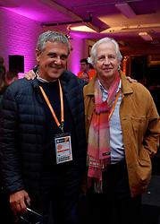 10–01-2020 NED: Side-events during OQT, Apeldoorn<br /> VIP space / coach José Roberto Guimaraes, Pieter Murphy