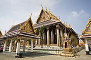 Royal Temple of the Emerald Buddha,Wat Phra Keow and Salarai, Bangkok, Thailand