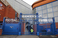 Ibrox Stadium during the Scottish Premiership match between Rangers and Livingston at Ibrox, Glasgow, Scotland on 25 October 2020.
