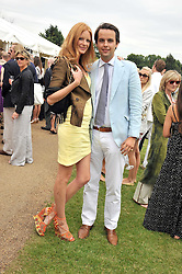 OLIVIA INGE and CHARLIE GILKES at a charity polo match organised by Jaeger Le Coultre was held at Ham Polo Club, Richmond, Surrey on 12th June 2009.
